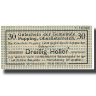 Billet, Autriche, 30 Heller, NEUF - Autriche