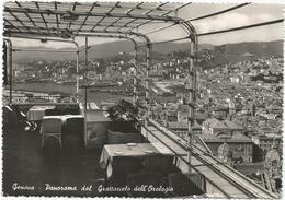W2572 Genova - Panorama Dal Grattacielo Dell'Orologio / Viaggiata 1952 - Genova