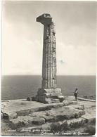 W2575 Crotone - Avanzi Greco Romani - Colonna Del Tempio Di Giunone / Viaggiata 1952 - Crotone