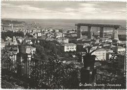 W2577 Genova - Sestri Ponente - Panorama Dei Cantieri Navali / Viaggiata 1951 - Genova