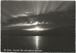W2578 Genova - Sestri Ponente - Panorama Al Tramonto - Sunset Coucher / Viaggiata 1951 - Genova