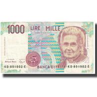 Billet, Italie, 1000 Lire, 1990, 1990-10-03, KM:114a, SPL - [ 2] 1946-… : Républic