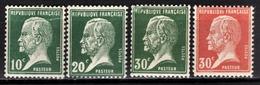 FRANCE 1922/26 -  Y.T. N° 170 / 172 / 173 / 174 - NEUFS** - France