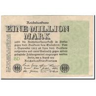 Billet, Allemagne, 1 Million Mark, 1923, KM:102b, SUP - 1 Million Mark