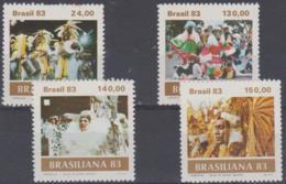 BRAZIL - 1983 Carnival. Scott 1841-1844. MNH ** - Brazil