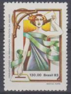 BRAZIL - 1983 Women's Rights. Scott 1846. MNH ** - Brazil