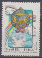 BRAZIL - 1983 Manned Flight. Scott 1897. MNH ** - Brazil