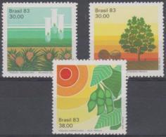 BRAZIL - 1983 Agriculture. Scott 1851-1853. MNH ** - Brazil
