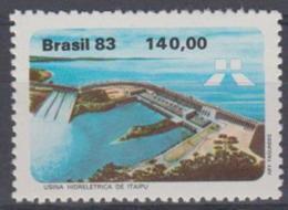 BRAZIL - 1983 Hydro-Electric Power Station. Scott 1847. MNH ** - Brazil