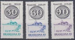 BRAZIL - 1983 Stamp Show. Scott 1871-1873. MNH ** - Brazil