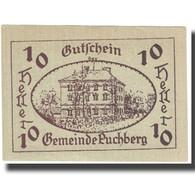 Billet, Autriche, 10 Heller, 1921, 1921-12-31, NEUF - Autriche