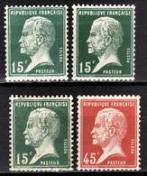 FRANCE 1922/26 - LOT Y.T. N° 171 X 3 / 175 - NEUFS** - France