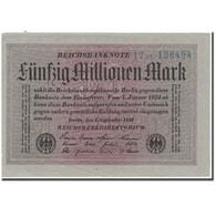 Billet, Allemagne, 50 Millionen Mark, 1923, KM:109a, NEUF - [ 3] 1918-1933: Weimarrepubliek
