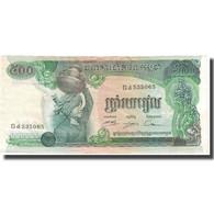 Billet, Cambodge, 500 Riels, KM:16a, TTB - Cambodge
