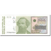 Billet, Argentine, 500 Australes, KM:328b, NEUF - Argentine