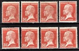 FRANCE 1922/26 - LOT Y.T. N° 175 X 8 - NEUFS** - France