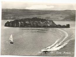 W2589 Bolsena (Viterbo) - Lago Di Bolsena - Isola Martana - Barche Boats Bateaux / Non Viaggiata - Altre Città