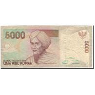 Billet, Indonésie, 5000 Rupiah, 2015, TB - Indonésie