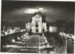 W2591 Assisi - Basilica Pastorale Di Santa Maria Degli Angeli - Notturno Notte Nuit Night Nacht Noche / Non Viaggiata - Italia