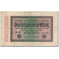 Billet, Allemagne, 20,000 Mark, 1923, KM:85b, TB - [ 3] 1918-1933 : République De Weimar