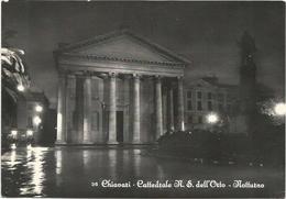W2593 Chiavari (Genova) - Cattedrale Nostra Signora Dell'Orto - Notturno Notte Nuit Night Nacht Noche / Non Viaggiata - Altre Città