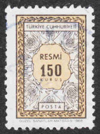 Turkey - Scott #O111 Used - Official Stamp - 1921-... Repubblica