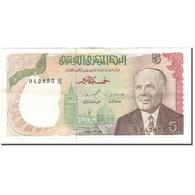 Billet, Tunisie, 5 Dinars, 1980-10-15, KM:75, TTB - Tunisie