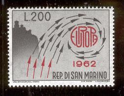 "SAN MARINO 1962 Mt. Titano And ""Europa"" Scott Cat. No(s). 539 MH - San Marino"
