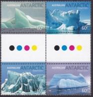 Australian Antartic Territory 2011 Sc L154  Mint Never Hinged Gutter - Neufs