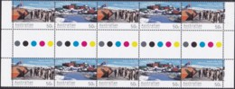 Australian Antarctic Territory 2004 Sc L125a Mint Never Hinged Gutter - Unused Stamps