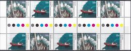 Australian Antarctic Territory 2003 Sc L121a Mint Never Hinged Gutter - Unused Stamps