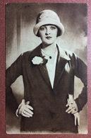 Vintage Soviet Postcard 1920s Lia PUTTI Film ACTRESS. Movie Star - Cinema - Acteurs