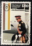 Duke Of Edombirgj's Awards, 25th Anniversary, Mauritius Stamp SC#536 Used - Timbres
