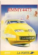 CPM - TGV La Poste - Illust. Patrick Martin - Agence Grafy - Studio - Edit. PTT CARTOPHILE - Trains