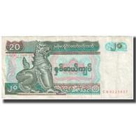 Billet, Myanmar, 20 Kyats, KM:72, TTB - Myanmar