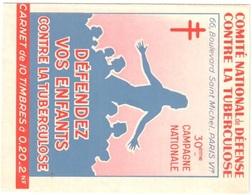 Tuberculose Nsc Mnh ** Carnet Booklet 1960/61 - Carnets