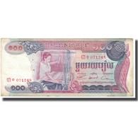Billet, Cambodge, 100 Riels, KM:15a, TTB - Cambodia