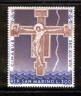 SAN MARINO 1967 Crucifix Of Santa Croce Scott Cat. No(s). 676 MNH - San Marino