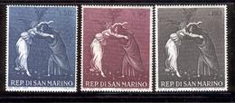 SAN MARINO 1968 Mystic Nativity By Botticelli Scott Cat. No(s). 692-694 MNH - San Marino
