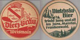 Bierdeckel Rund - Dietzbräu - Bierdeckel