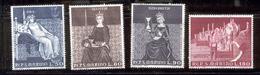 "SAN MARINO 1969 ""Good Government"" Frescoes, Siena Scott Cat. No(s). 695-698 MNH - San Marino"