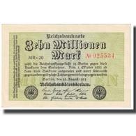Billet, Allemagne, 10 Millionen Mark, 1923, 1923-08-22, KM:106a, SPL - [ 3] 1918-1933: Weimarrepubliek