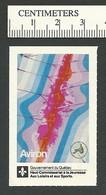 B54-74 CANADA Quebec Rowing Aviron Sport Poster Stamp MNH - Local, Strike, Seals & Cinderellas