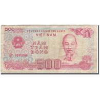 Billet, Viet Nam, 500 D<ox>ng, 1988, KM:101a, B+ - Viêt-Nam