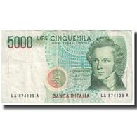 Billet, Italie, 5000 Lire, 1985, 1985-01-04, KM:111a, TTB - [ 2] 1946-… : Républic
