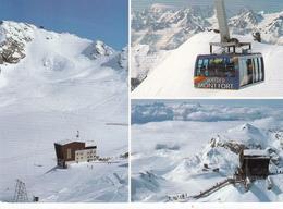Switzerland Verbier Ski Resort Various Views Postcard Geneva 1995 Postmark Used Good Condition - Schweiz