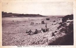 29 - Finistere - ILE De SIECK ( Santec )  -  La Grande Plage Et Un Coin De L Ile - France