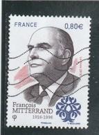 FRANCE 2016 FRANCOIS MITTERRAND OBLITERE - YT 5089 -                                         TDA268 - France