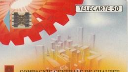TELECARTE 50... COMPAGNIE GENERALE DE CHAUFFE - France