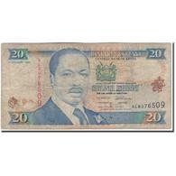 Billet, Kenya, 20 Shillings, 1996-01-01, KM:35a2, B - Kenya